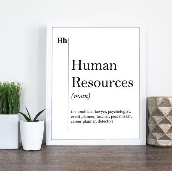 Human Resources as career